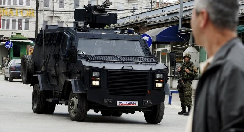 Serbia tăng cường quân đội biên giới Kosovo - ảnh 1