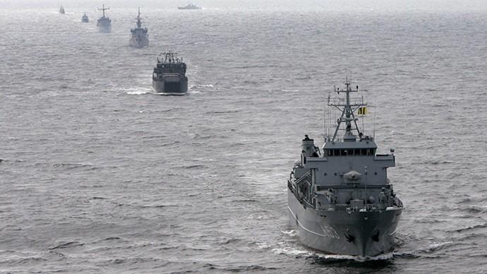 20 tàu chiến NATO đến biển Baltic tập trận - ảnh 1