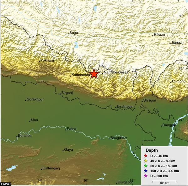 Nepal: Số người chết, bị thương tăng nhanh - ảnh 2