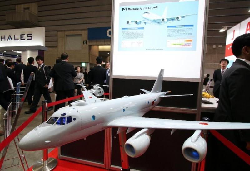 Nhật Bản rầm rộ hội chợ vũ khí hàng hải - ảnh 1