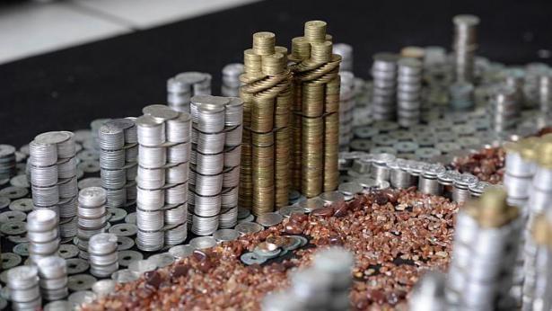 """Thành phố """"xây"""" bằng 50.000 đồng xu - ảnh 2"""