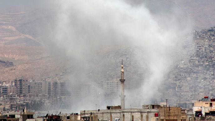 Khủng bố công kích Đại sứ quán Nga tại Damascus - ảnh 1