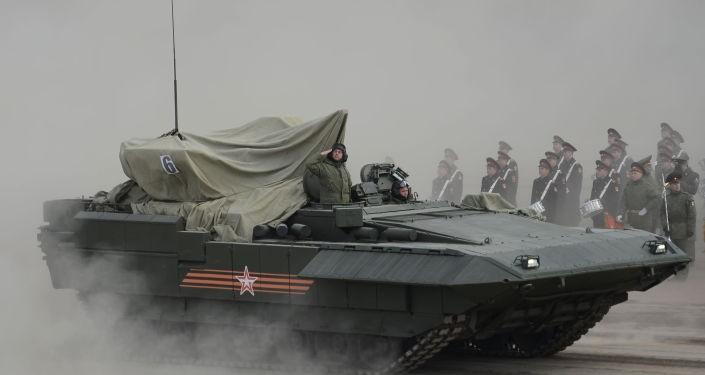 Tăng Armata sắp nâng cấp thành rô-bốt - ảnh 1