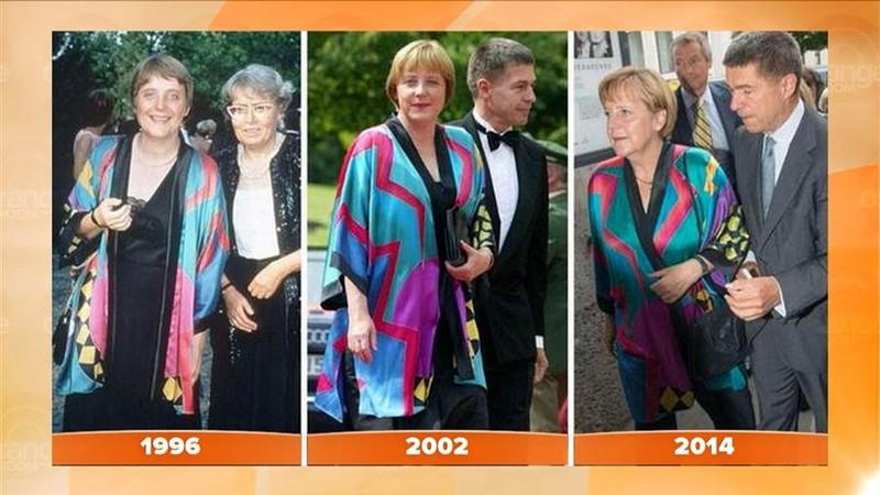 Nữ Thủ tướng Đức 18 năm 'trung thành' một kiểu áo - ảnh 1