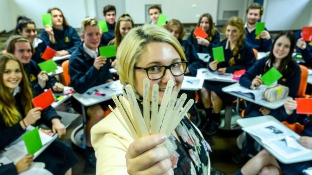 Trường Úc thử 'cấm' học sinh giơ tay phát biểu - ảnh 2