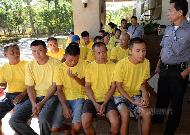 Philippines thả 9 ngư dân Trung Quốc đánh bắt trái phép - ảnh 2