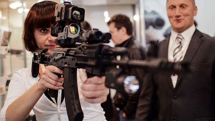 Súng trường AK-47 'lên đời' có internet và định vị toàn cầu - ảnh 1