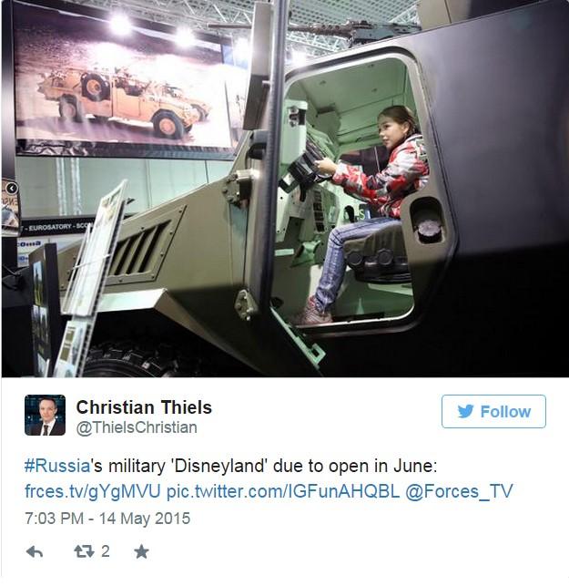 'Công viên giải trí quân sự' Nga làm phương Tây 'choáng váng' - ảnh 5