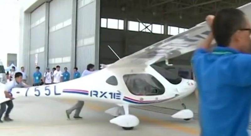 Trung Quốc có máy bay điện đầu tiên trên thế giới - ảnh 1
