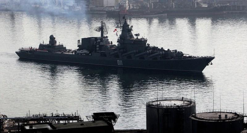 Tàu tên lửa Nga tập huấn trên Thái Bình Dương - ảnh 1