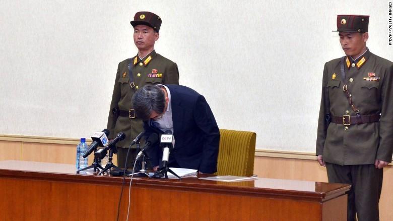 Triều Tiên kết án chung thân khổ sai cho gián điệp Hàn Quốc - ảnh 1