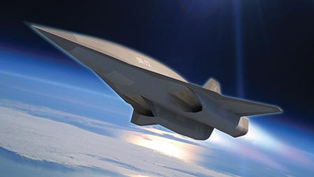 Mỹ xuất trình siêu máy bay không người lái SR-72 - ảnh 1