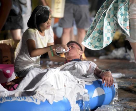 Đài Loan cấm bột màu 'bí ẩn' sau thảm họa cháy - ảnh 1