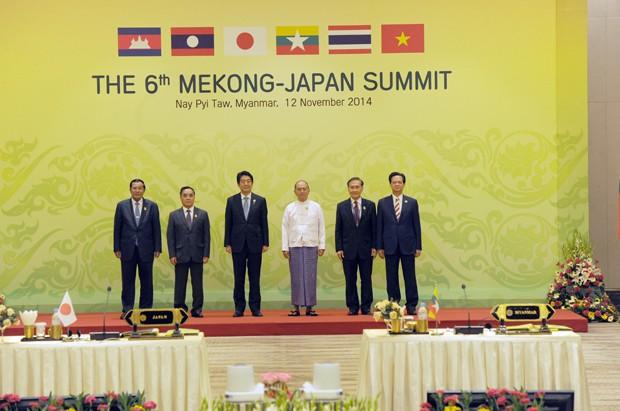 Nhật Bản trải thảm đỏ mời 'Bộ Năm Mekong' - ảnh 1