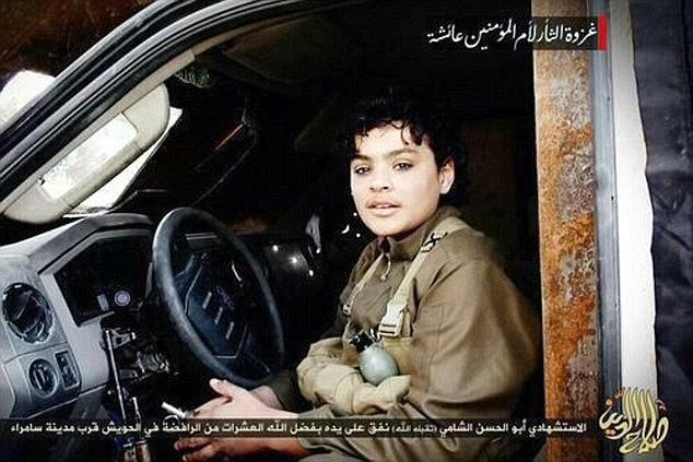 Dạy cách kích nổ mìn, IS cho nổ tung bé sơ sinh - ảnh 1