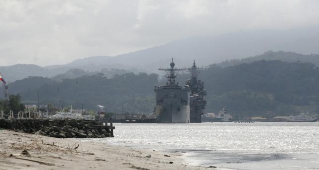 Philippines triển khai tàu chiến và chiến đấu cơ đối phó Trung Quốc - ảnh 1