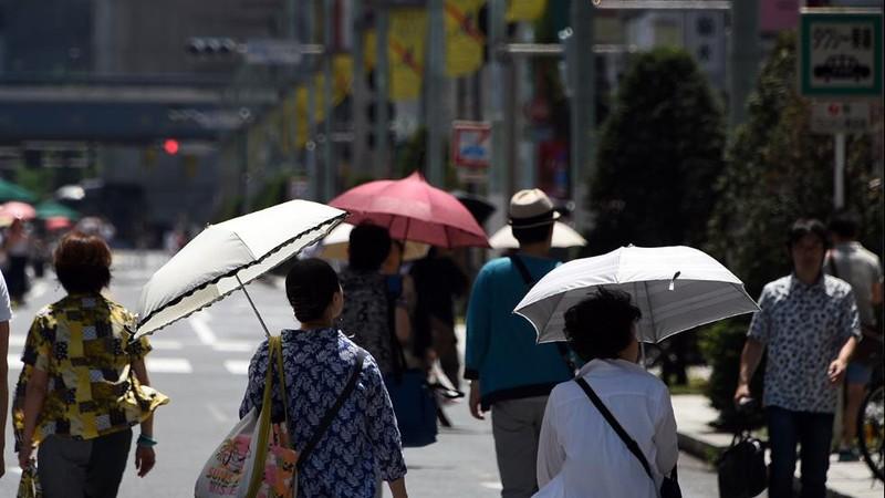 Nhật nắng nóng kinh hoàng, hơn 6000 người nhập viện  - ảnh 1