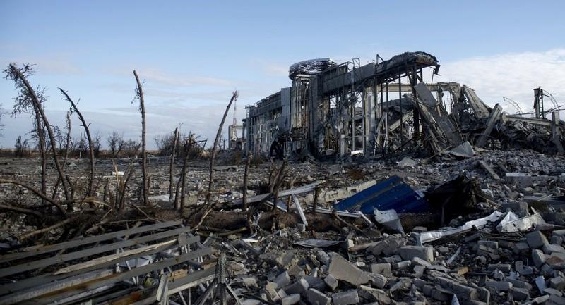 Phát hiện vũ khí Mỹ tại sân bay Ukraine - ảnh 1