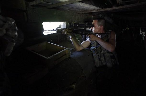 Du khách Nga bị bắn khi đang chụp ảnh gần biên giới Ukraine - ảnh 1