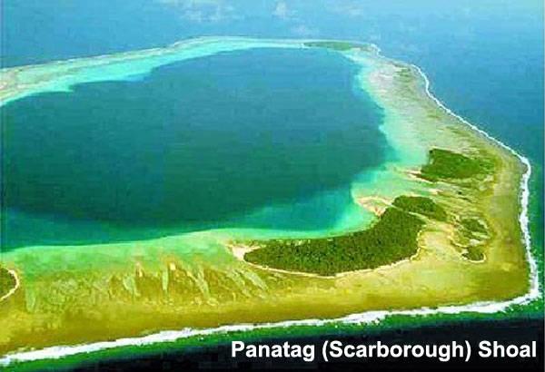 Philippines lo Trung Quốc xây đảo nhân tạo tại bãi Scarborough - ảnh 1