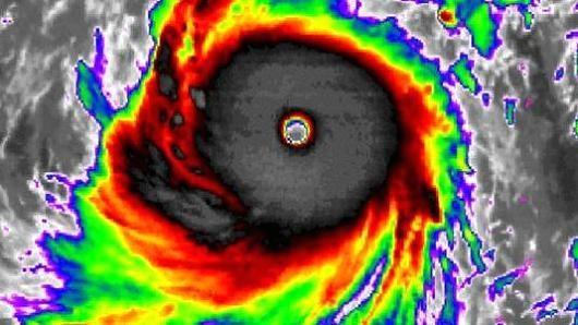 Siêu bão mạnh nhất 2015 càn quét Thái Bình Dương - ảnh 1
