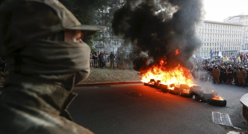 Phe cánh hữu Ukraine lên kế hoạch làm loạn tại Odessa - ảnh 1
