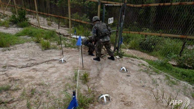 Hàn Quốc đe dọa khiến Triều Tiên 'trả giá đắt' vì vụ nổ mìn - ảnh 1