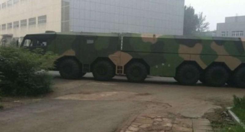 Lộ ảnh phương tiện chở tên lửa bí ẩn của Trung Quốc - ảnh 1