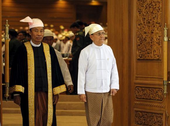 Chủ tịch Quốc hội Myanmar Shwe Mann bị bãi chức - ảnh 1