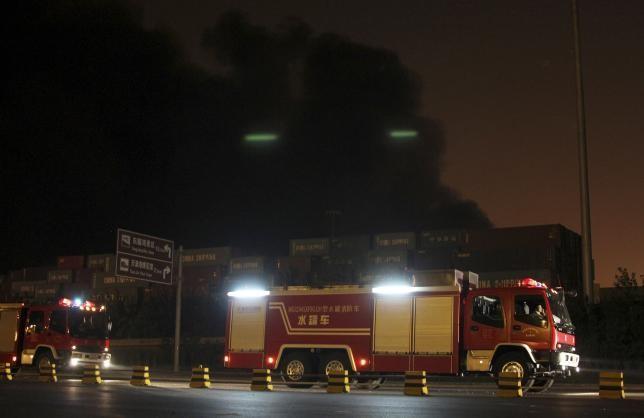 Vụ nổ rung chuyển Thiên Tân: Hoãn cứu hộ vì 'hàng hóa độc hại' - ảnh 1