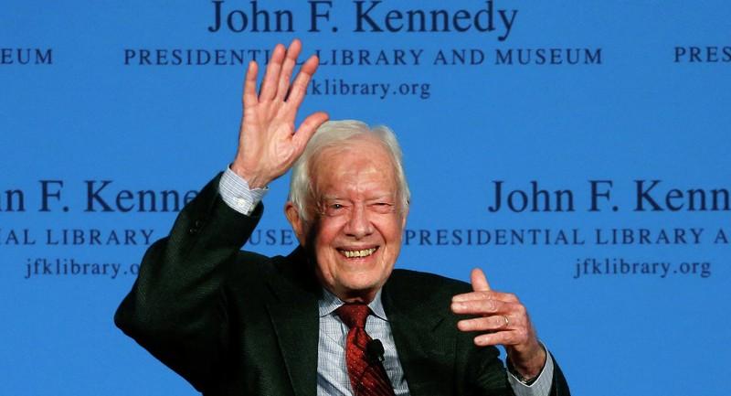 Cựu tổng thống Mỹ Jimmy Carter mắc bệnh ung thư - ảnh 1