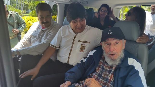 Lãnh tụ Fidel Castro kỷ niệm sinh nhật lần 89 - ảnh 1