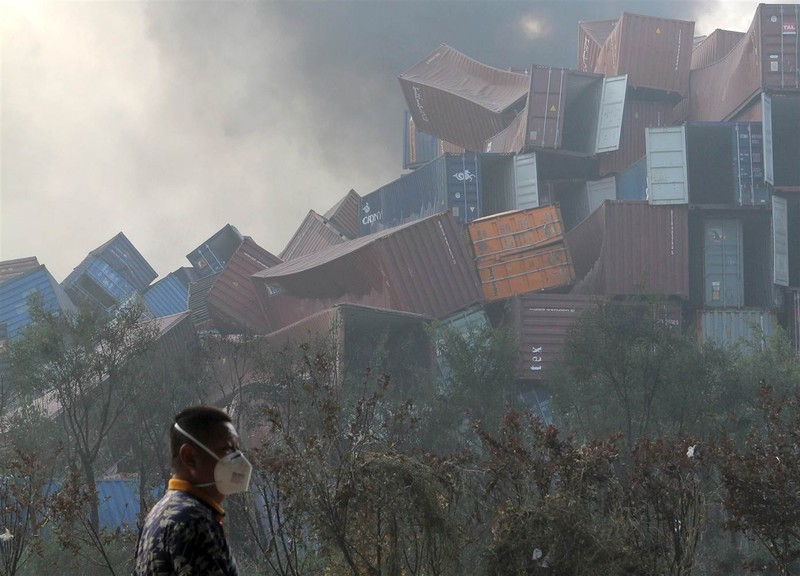 Chuyên gia vào cuộc vụ nổ Thiên Tân, Tổng thư ký LHQ lên tiếng - ảnh 2