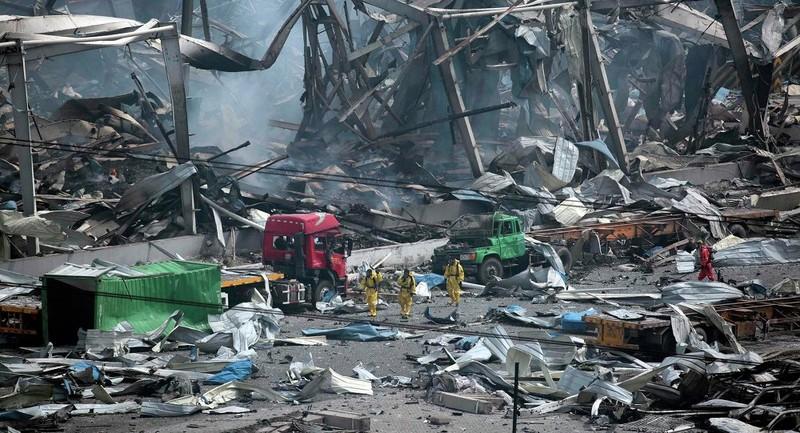 Vụ nổ ở Thiên Tân: Số người chết lên đến 112 - ảnh 1
