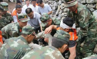 Vụ lở đất khu mỏ Trung Quốc: Phát hiện thi thể 7 người - ảnh 1