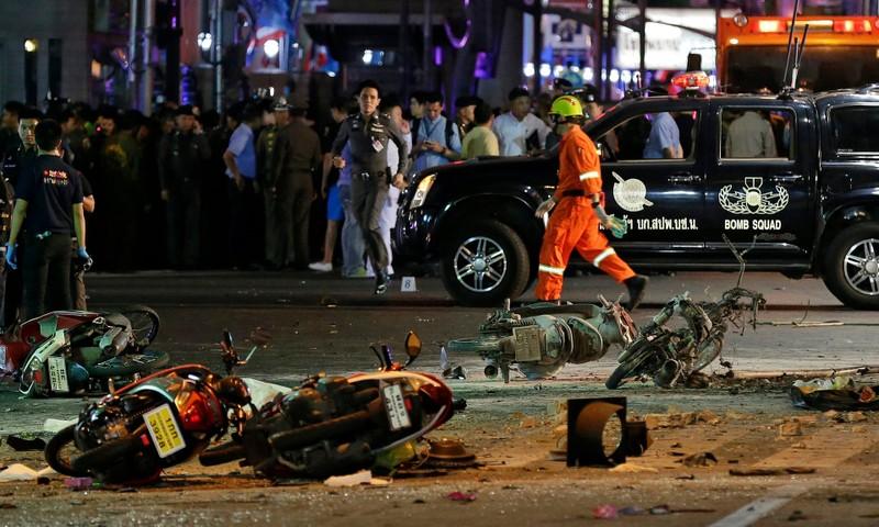 Nổ bom Bangkok: 27 người thiệt mạng, Bộ Quốc phòng Thái Lan lên tiếng - ảnh 4