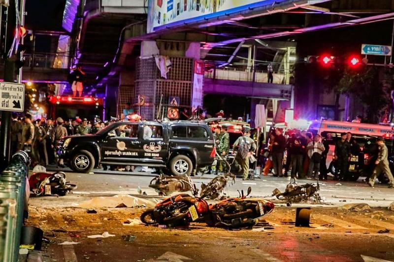 Nổ bom ở Thái Lan, 2 người chết - ảnh 1