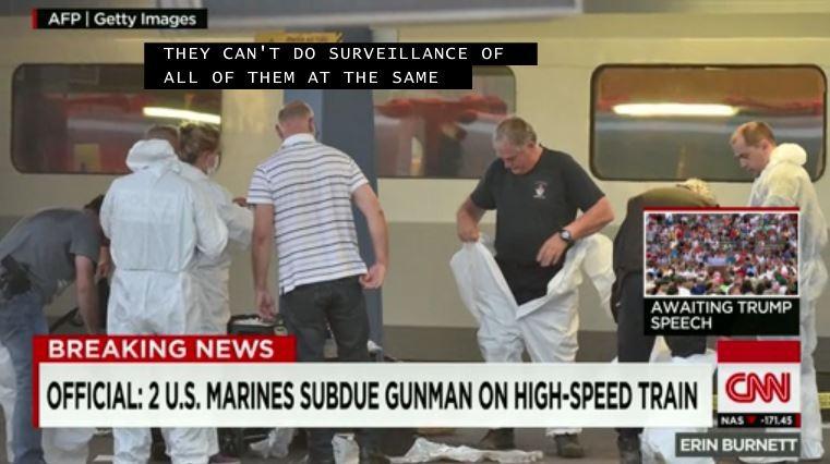 Khủng bố tàu cao tốc Bỉ, 'không may' gặp lính Mỹ - ảnh 1
