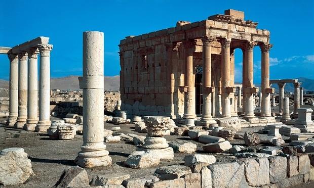 IS đánh sập ngôi đền cổ di sản thế giới  - ảnh 1