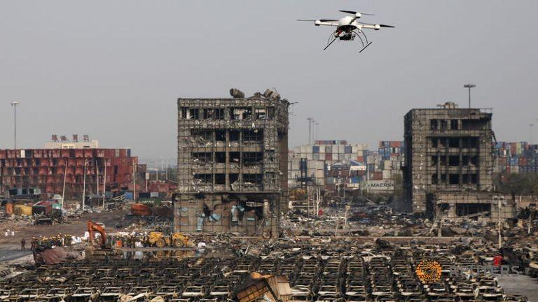 Trung Quốc bắt giữ 12 nghi phạm trong vụ nổ Thiên Tân - ảnh 1