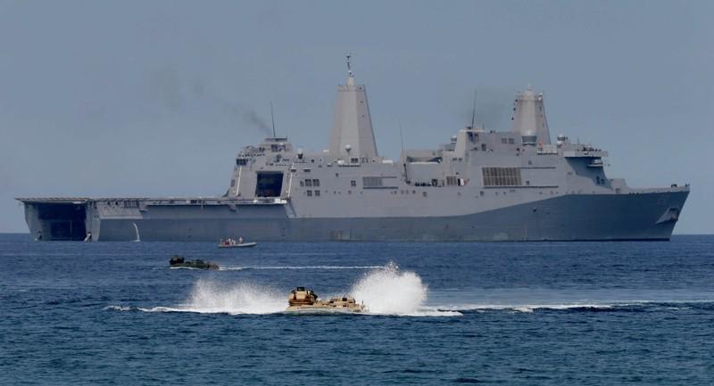 Mỹ sẽ tăng cường tập trận ở Biển Đông - ảnh 1