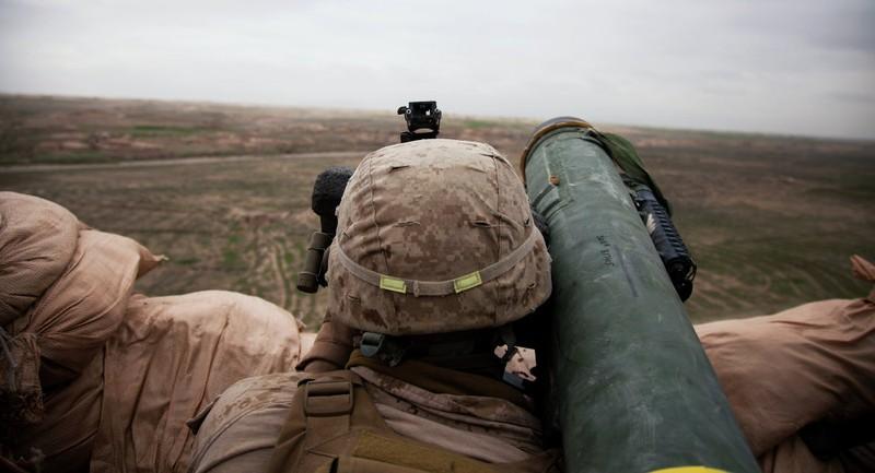 Mỹ huấn luyện quân đội Estonia dùng tên lửa Javelin - ảnh 1