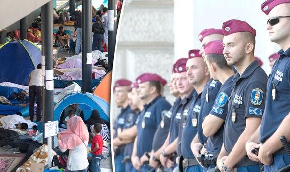 Hungary sẽ cho quân đội đàn áp người tị nạn - ảnh 1