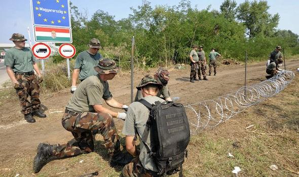 Hungary sẽ cho quân đội đàn áp người tị nạn - ảnh 2