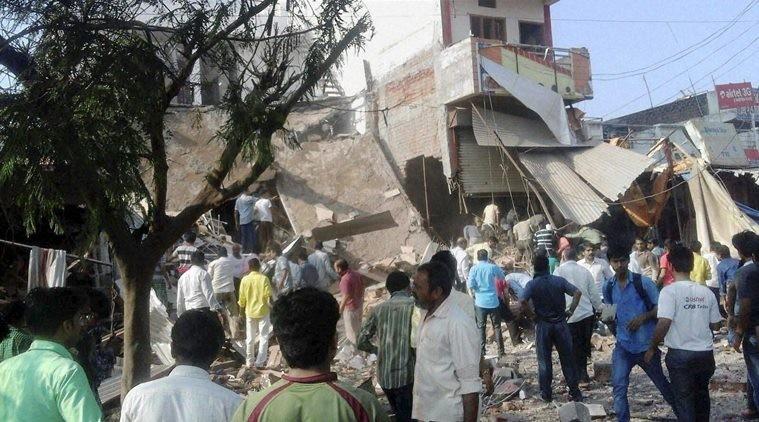Nổ nhà hàng Ấn Độ làm 82 người chết - ảnh 1