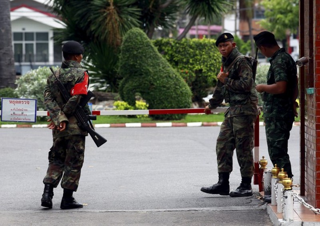 Thái Lan bắt ba phụ nữ liên quan loạt đánh bom Bangkok  - ảnh 1