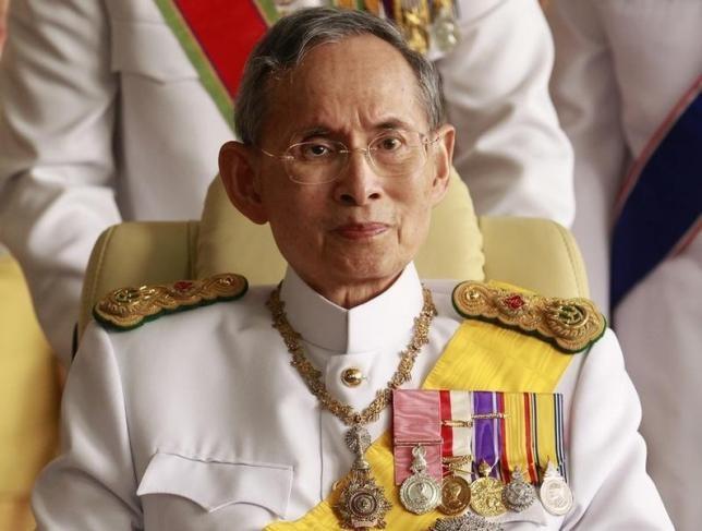 Vua Thái Lan điều trị nhiễm trùng máu, viêm phổi - ảnh 1