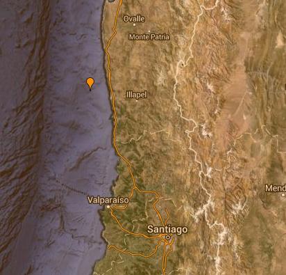 Động đất rung chuyển Chile, phát cảnh báo sóng thần - ảnh 1