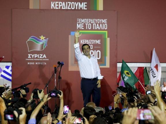 Bầu cử Hy Lạp: Đảng Syriza của ông Tsipras thắng - ảnh 1