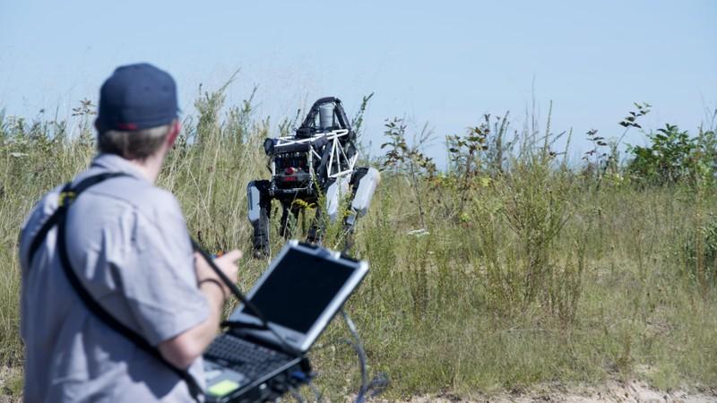 Robot chiến đấu của Google mở ra tương lai cho bộ binh - ảnh 2